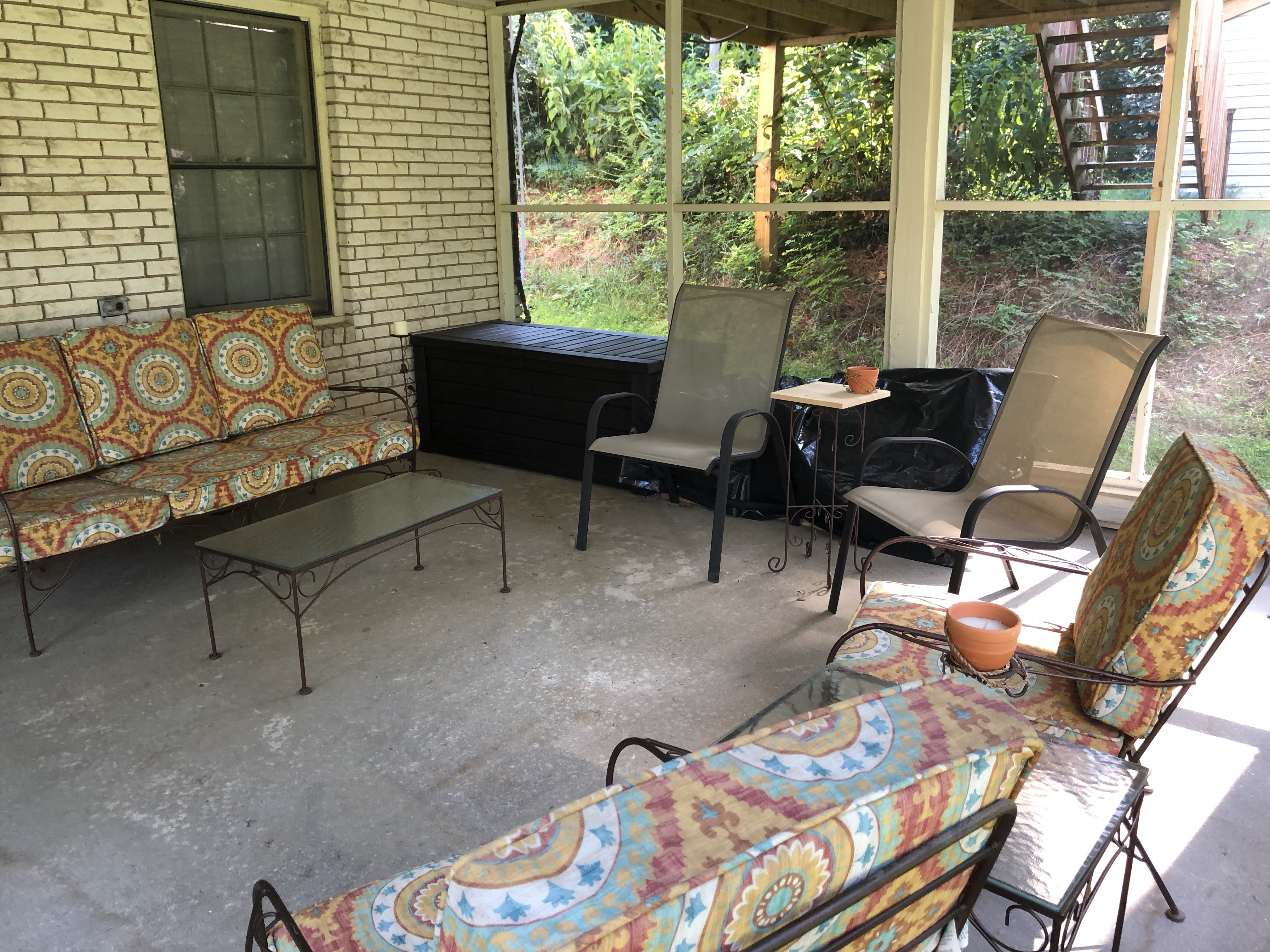 Screened Porch - Lower Level