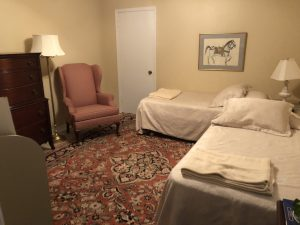 Lower Level Bedroom - Twin Beds